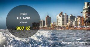 Jarní letenky do TEL AVIVU
