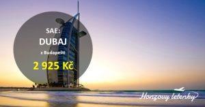 Letenky do DUBAJE za fajn cenu