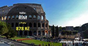 Levné letenky na pár dní do ŘÍMA