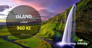 Dubnové letenky na ISLAND