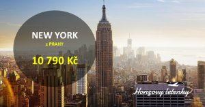 Přímo z Prahy do NEW YORKU