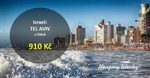 Červnové letenky do TEL AVIVU