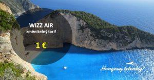 Wizz Air změnitelné tarify