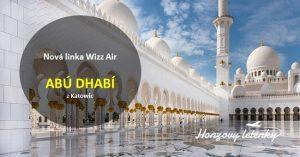 Wizz Air prodává lety do Abú Dhabí