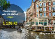 AMSTERDAM na konci léta