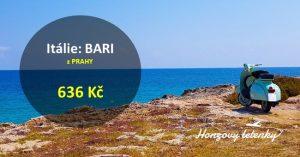 Letní letenky do BARI