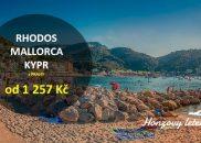 Rhodos, Mallorca i Kypr za 13 stovek
