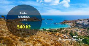 Letní letenky na řecký RHODOS