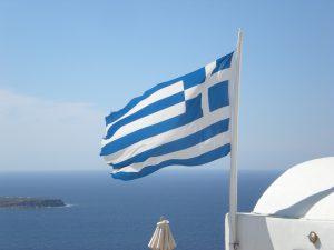 Řecko – formulář pro vstup (QR)