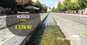 Do KOŠIC z Prahy