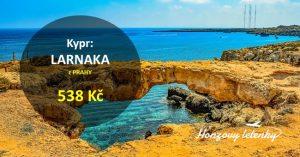 Nejlevnější letenky na KYPR