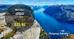 Letenky do norského OSLA