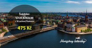 Levně opět i do STOCKHOLMU