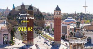 Akční letenky do BARCELONY