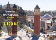 Flexibilní letenky do BARCELONY