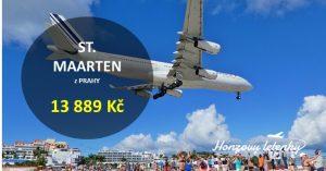 Letenky na St Maarten