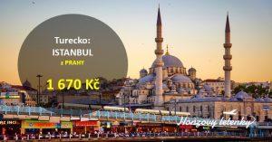 Akční letnky do ISTANBULU