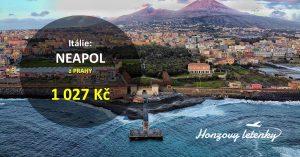 Akční letenky do NEAPOLE