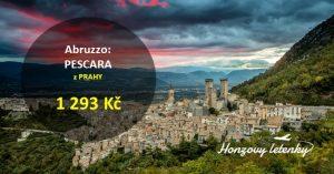 Letní letenky do italského ABRUZZA