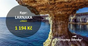 Flexibilní letenky na KYPR