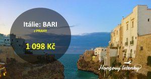 Letenky do italského BARI