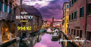 Letní BENÁTKY z Prahy