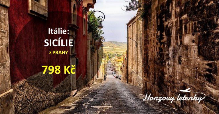 Nejlevnější SICÍLIE z Prahy