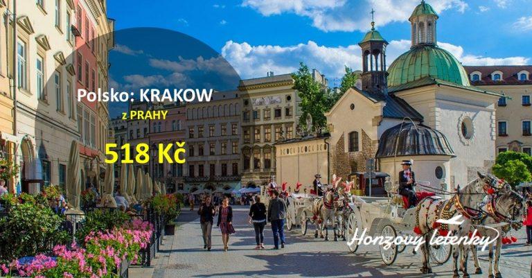 Víkendové letenky do KRAKOWA