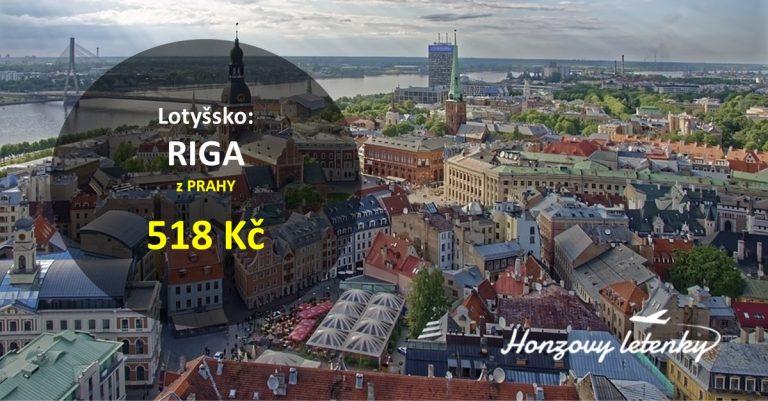 Z Prahy levně do RIGY