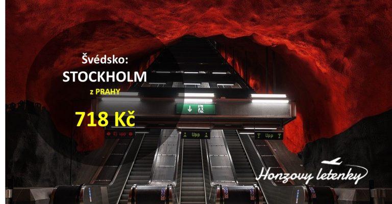 Víkendové letenky do STOCKHOLMU