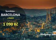 Za tisícovku do BARCELONY