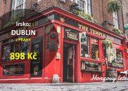 DUBLIN z Prahy na víkend